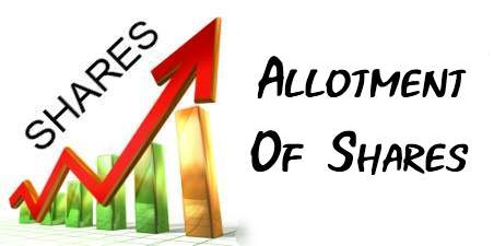 Allotment of Share - Adding New Shareholders  配股-添加新股東
